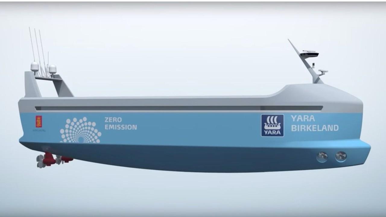 buque carga electrico noruega prototipo