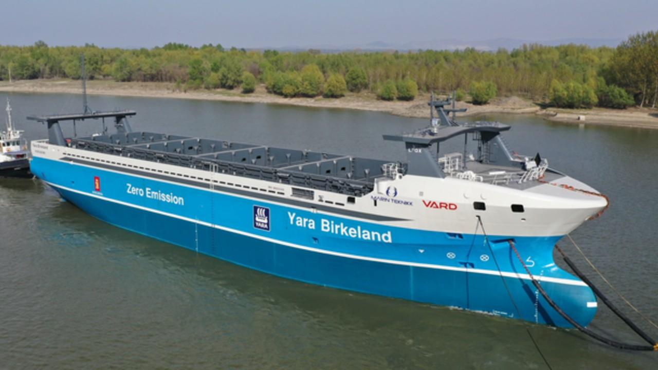 barco electrico carga yara birkeland