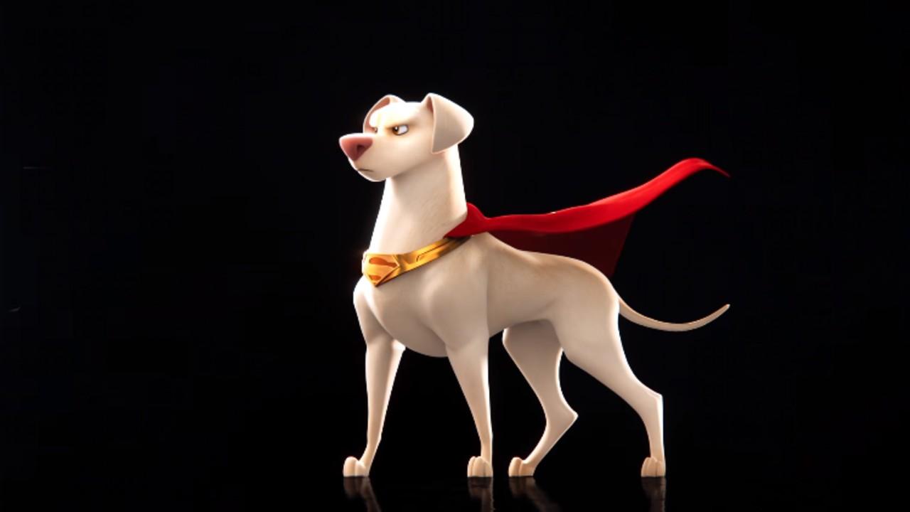 DC Liga mascotas super kryto pelicula