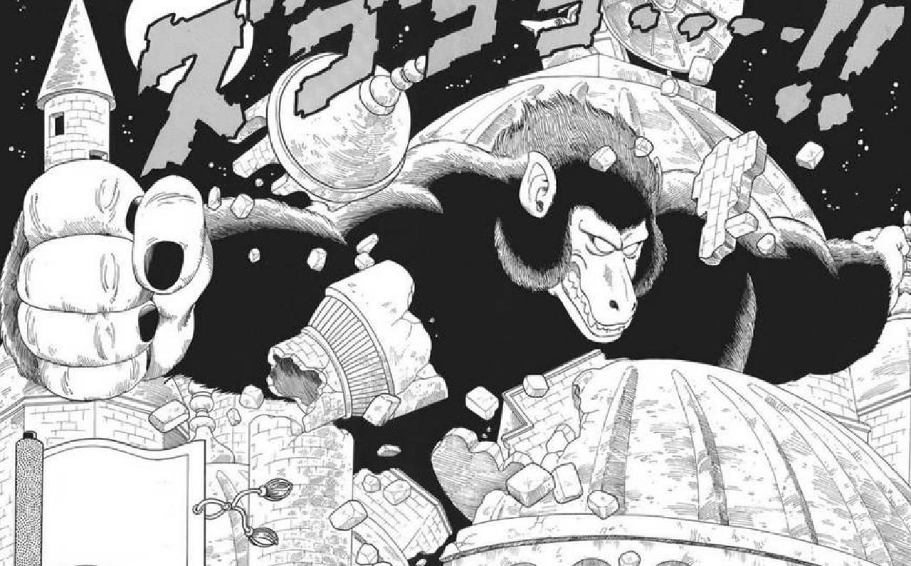 goku de niño dragon ball manga