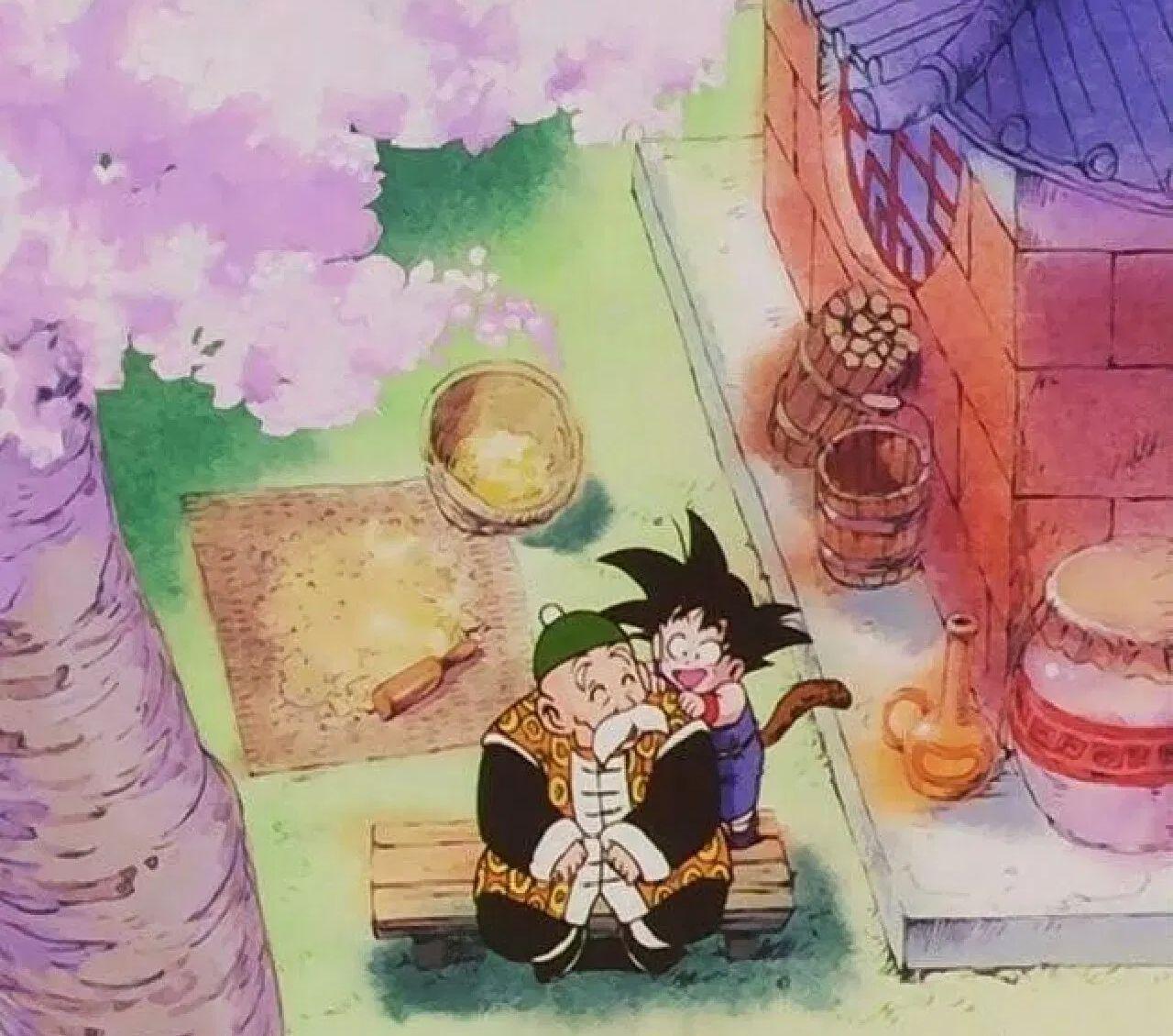 goku de niño dragon ball ozaru gohan