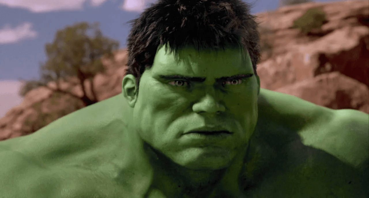 hulk 2003 película efectos especiales