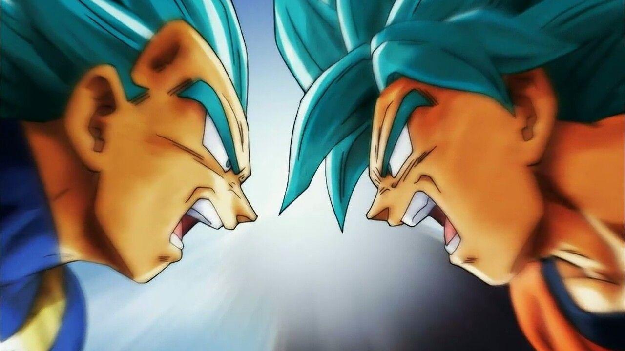 goku vs vegeta dragon ball super final
