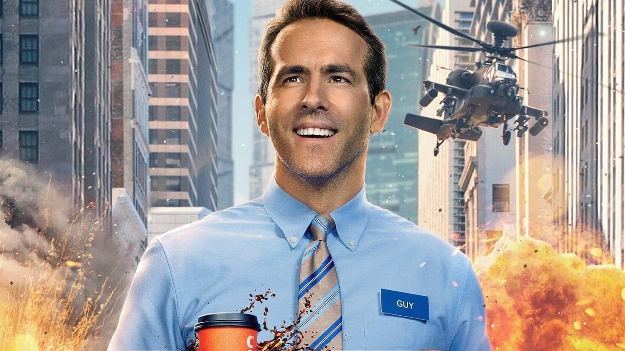 Free Guy Nueva Película Videojuegos Ryan Reynolds Tráiler Estreno