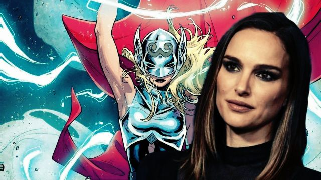 Jane Foster Mighty Thor Natalie Portman Thor Love and Thunder