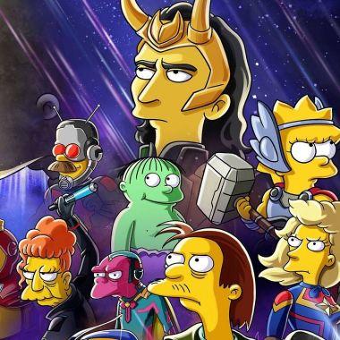 Los Simpson Especial Disney+ Loki Marvel