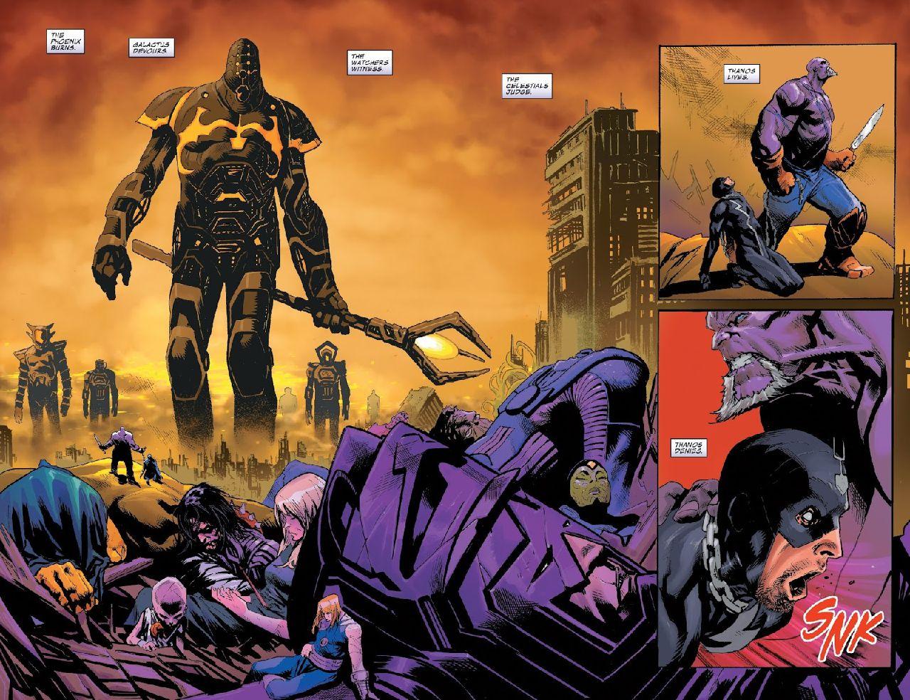 marvel comics mayores amenazas thanos