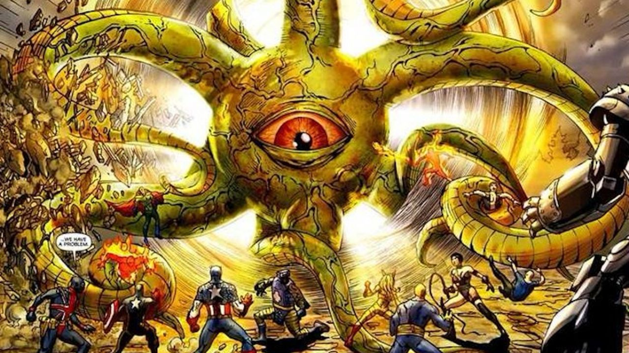 marvel comics mayores amenazas shuma-gorath
