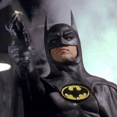 The Flash Michael Keaton Batman Supergirl Batimóvil