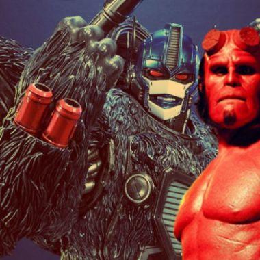 Transformers: Rise of the Beast Película Ron Perlman Optimus Primal