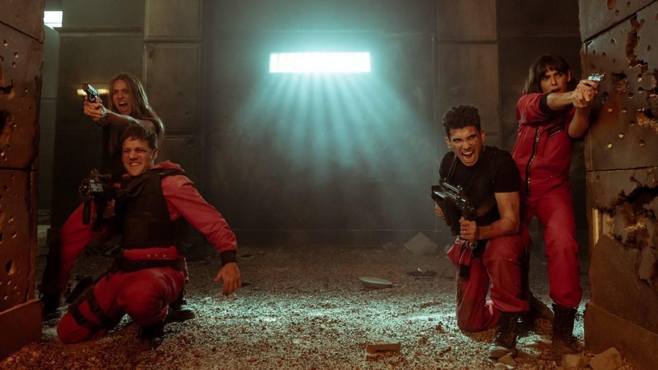 Primeras Imágenes La Casa de Papel Quinta Temporada Netflix