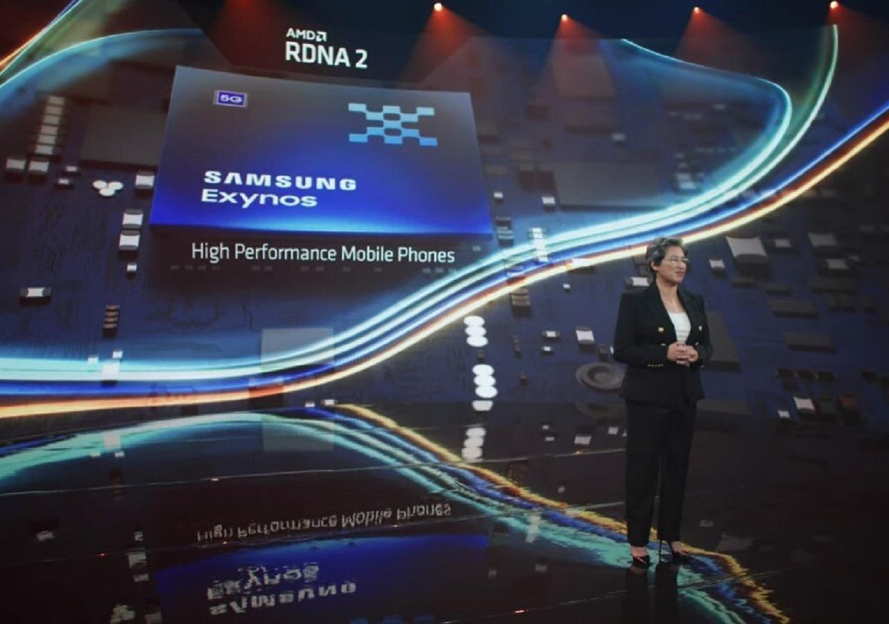 Samsung AMD Nuevo Procesador Exyno Raytracings
