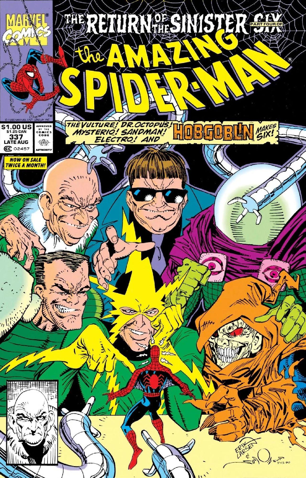 spiderman 3 2021 marvel comics sinister six
