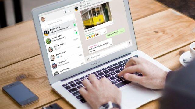 whatsapp web mensajes temporales configurar