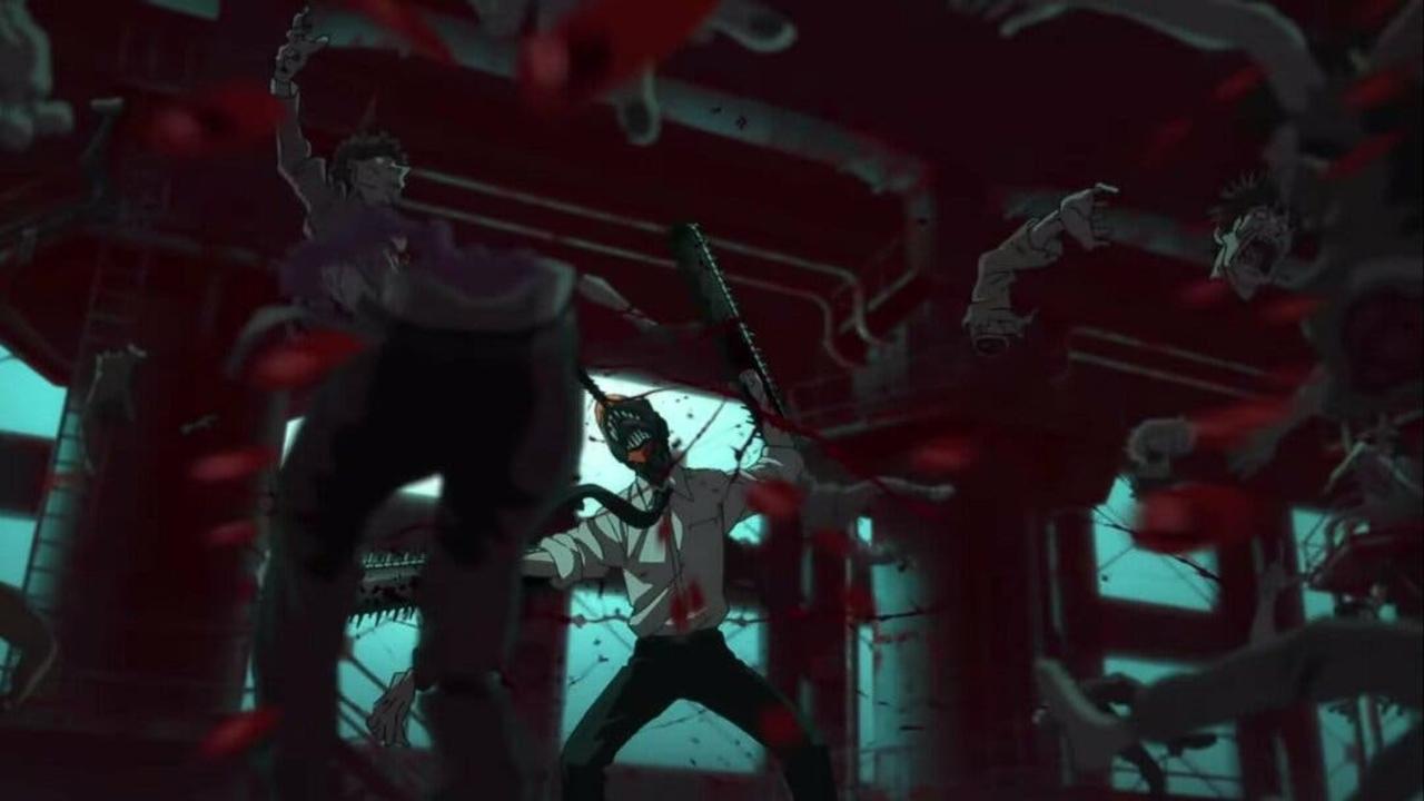 chainsaw man anime trailer