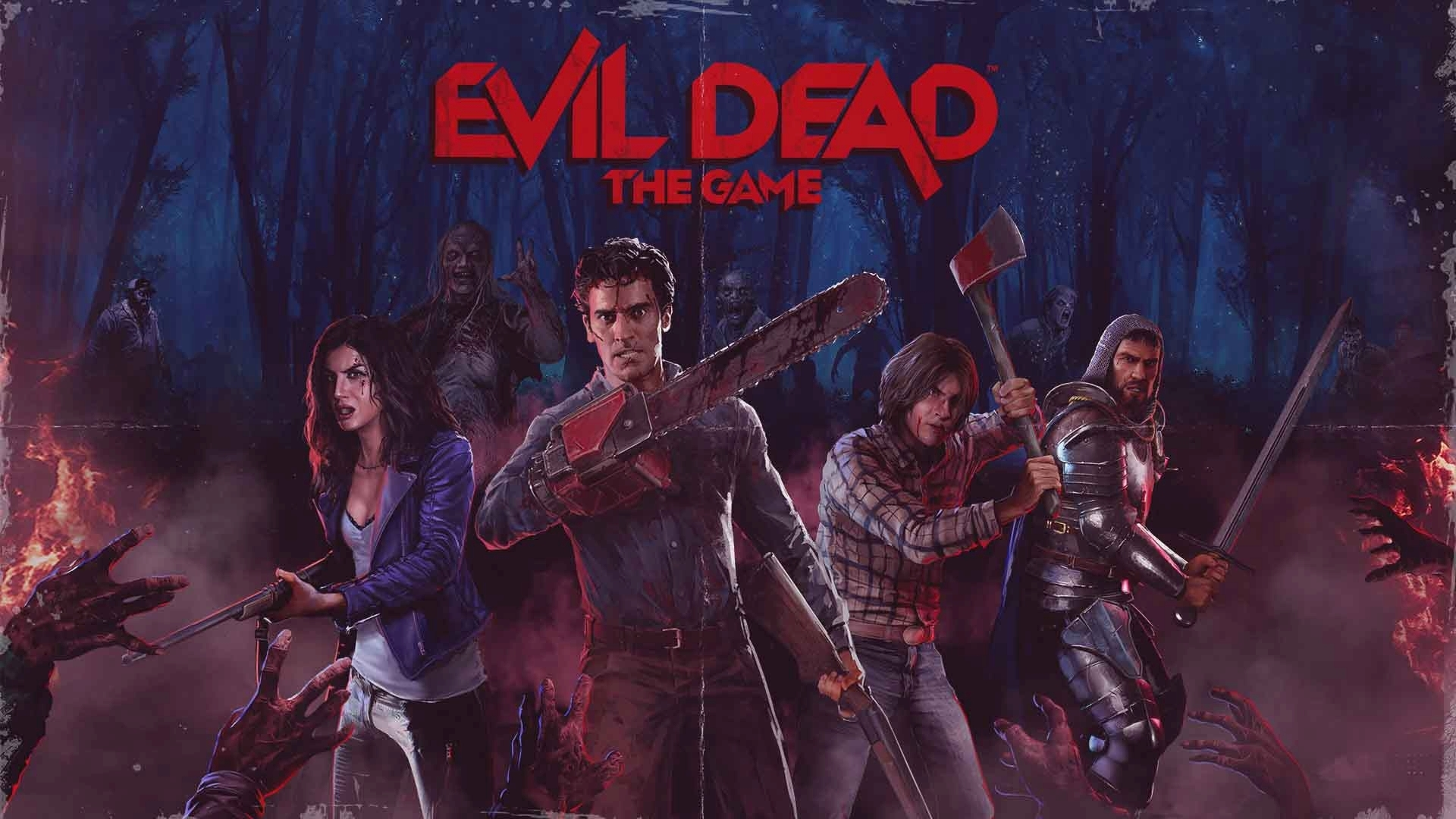 evil dead the game trailer gameplay summer game fest