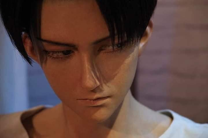 Attack on Titan: Fans enloquecen con figura hiperrealista de Levi