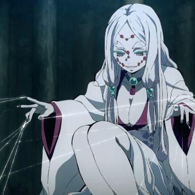 madre araña kimetsu no yaiba