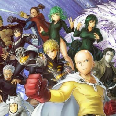 0ne Punch man personajes anime ranking