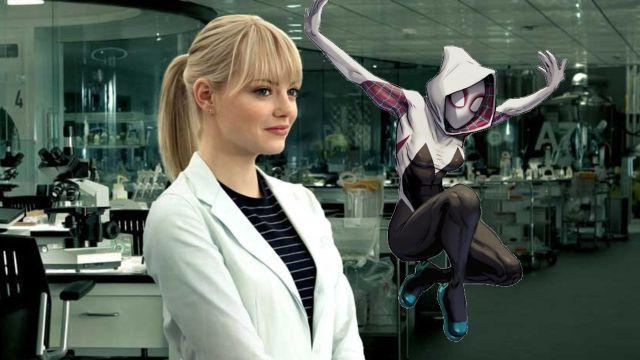 Marvel: Fanart ilustra al estilo del cómic a Emma Stone como Spider Gwen