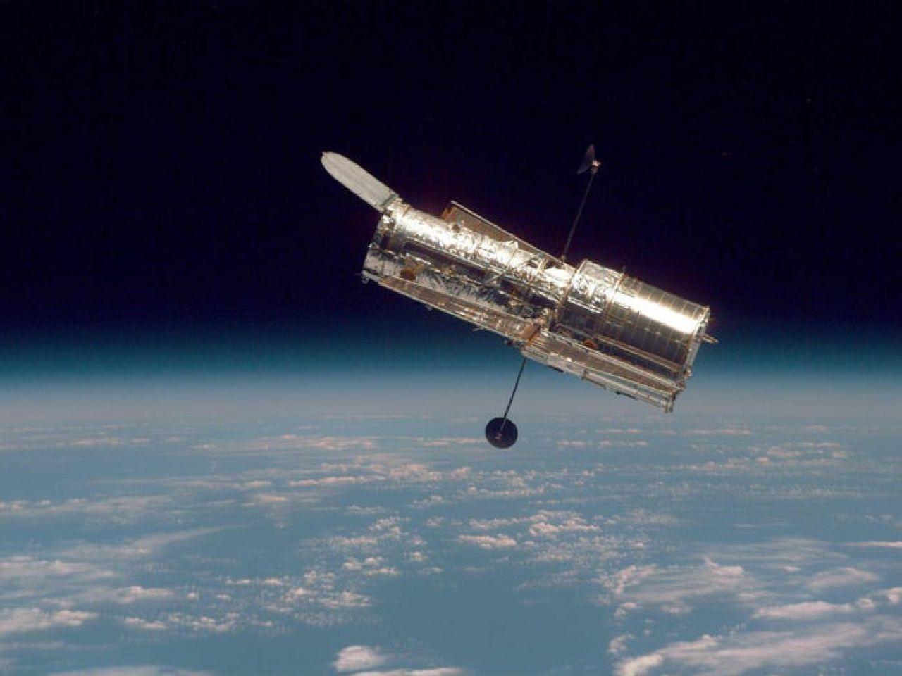 telescopio hubble fotografia espacio nasa