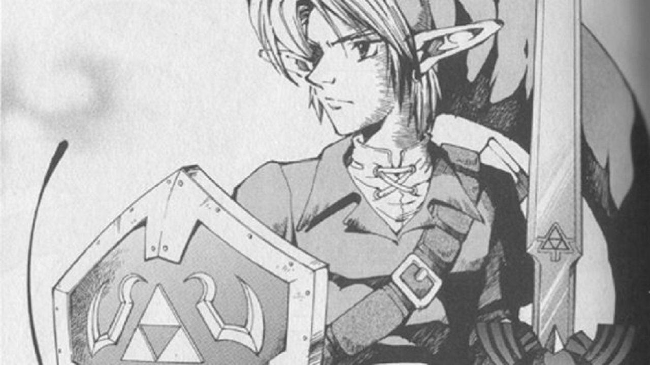 the legend of zelda anime ocarina of time manga