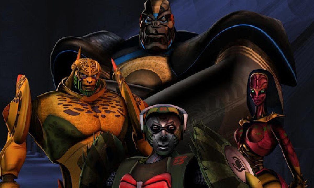 Transformers beast wars optimus prime animales