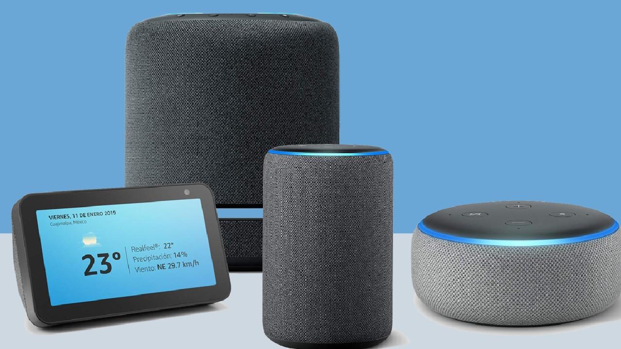 Amazon echo familia alexa asistente virtual
