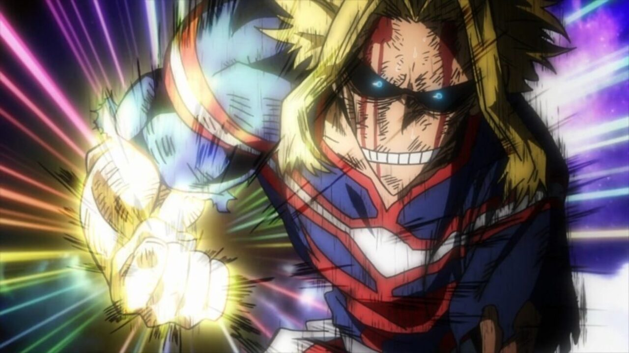 My Hero Academia Anime Cosplay All Might