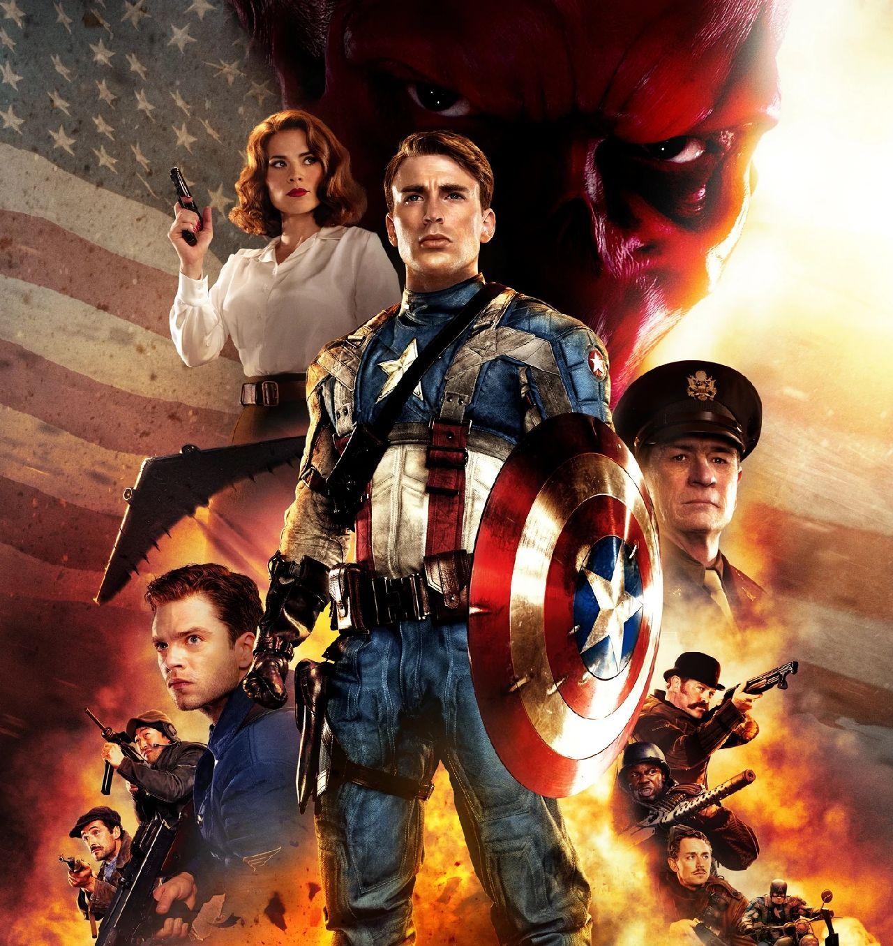 capitán américa primer vengador