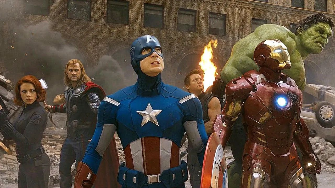 personajes de marvel avengers