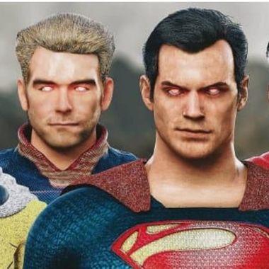 superman vs omniman vs homelander vs saitama video