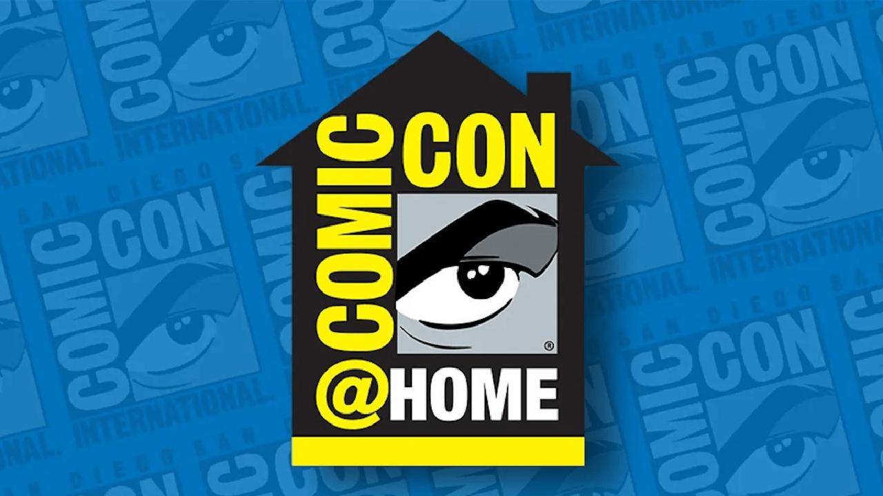 comic con 2021 at home evento horarios fechas