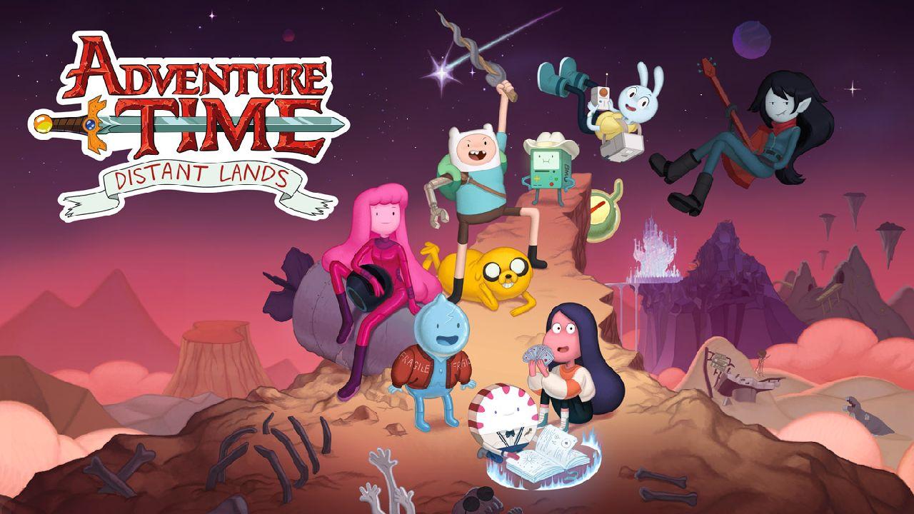 comic con 2021 adventure time