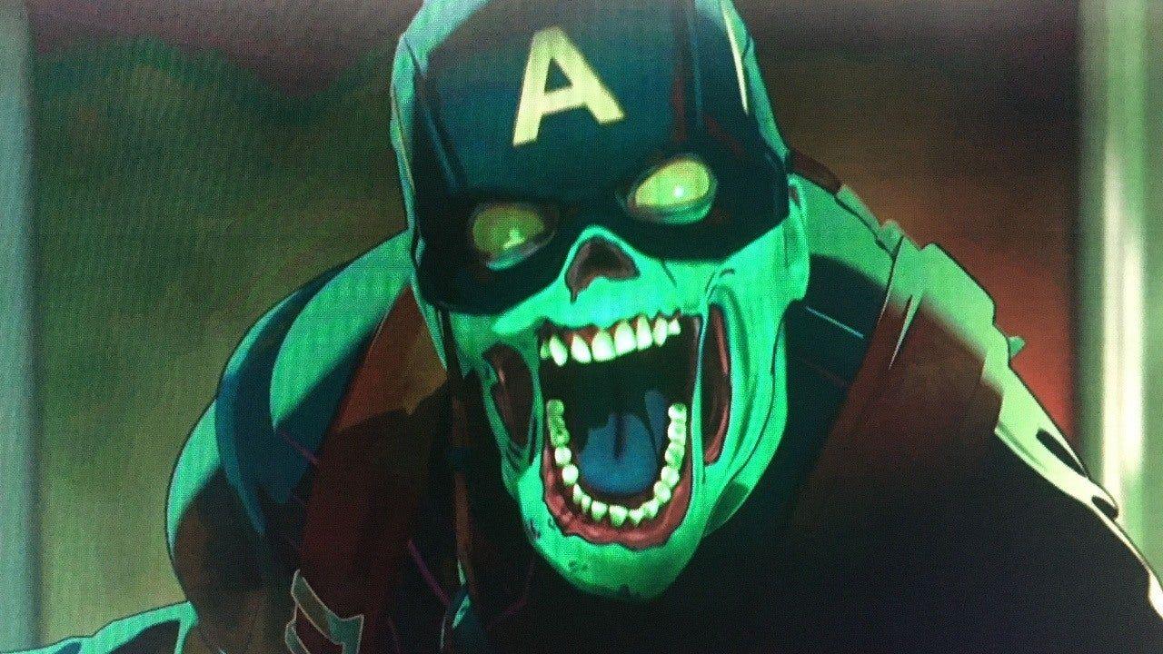personajes de marvel capitán américa zombi