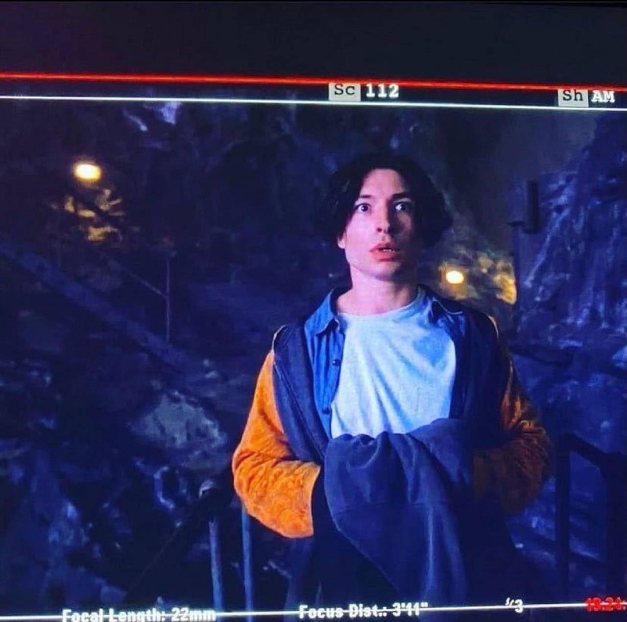 Ezra Miller Imágenes de Flash Película