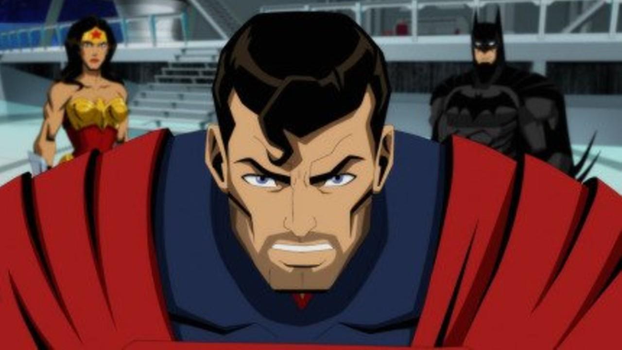 Injustice pelicula animada DC Comics doblaje