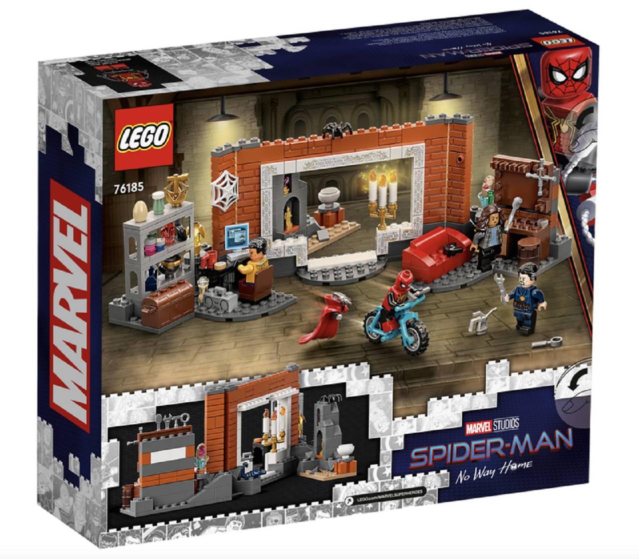 Taraji Spider-Man Legos Spider-Man No Way Home Doctor Strange
