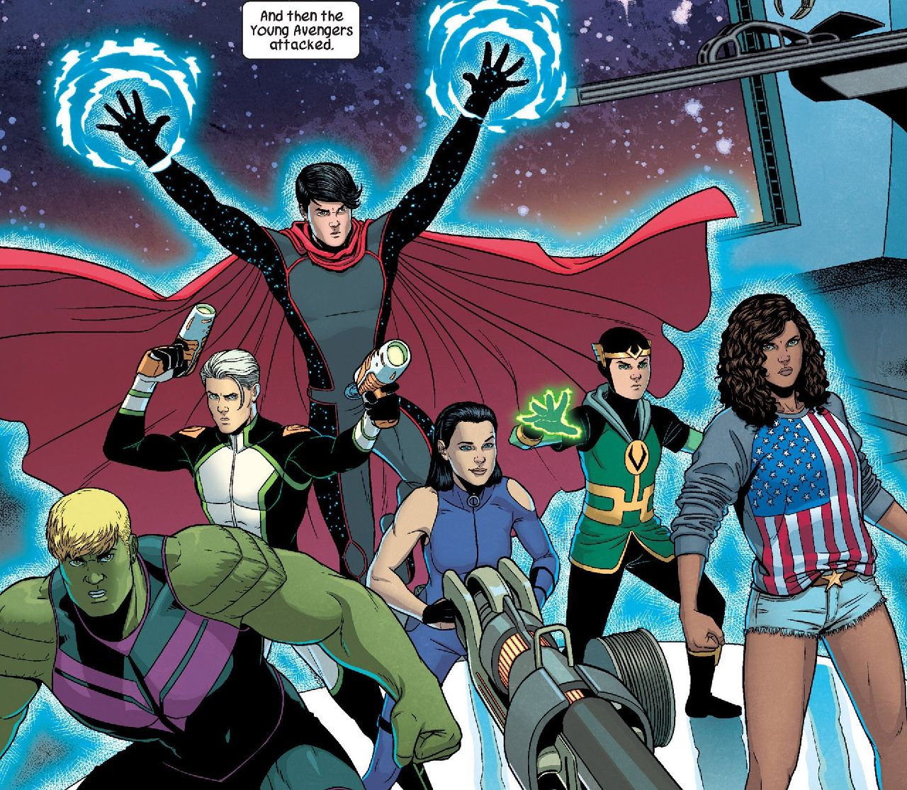 loki serie marvel comics young avengers