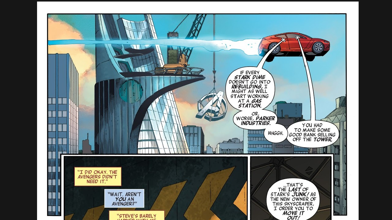 torre de los vengadores marvel comics loki