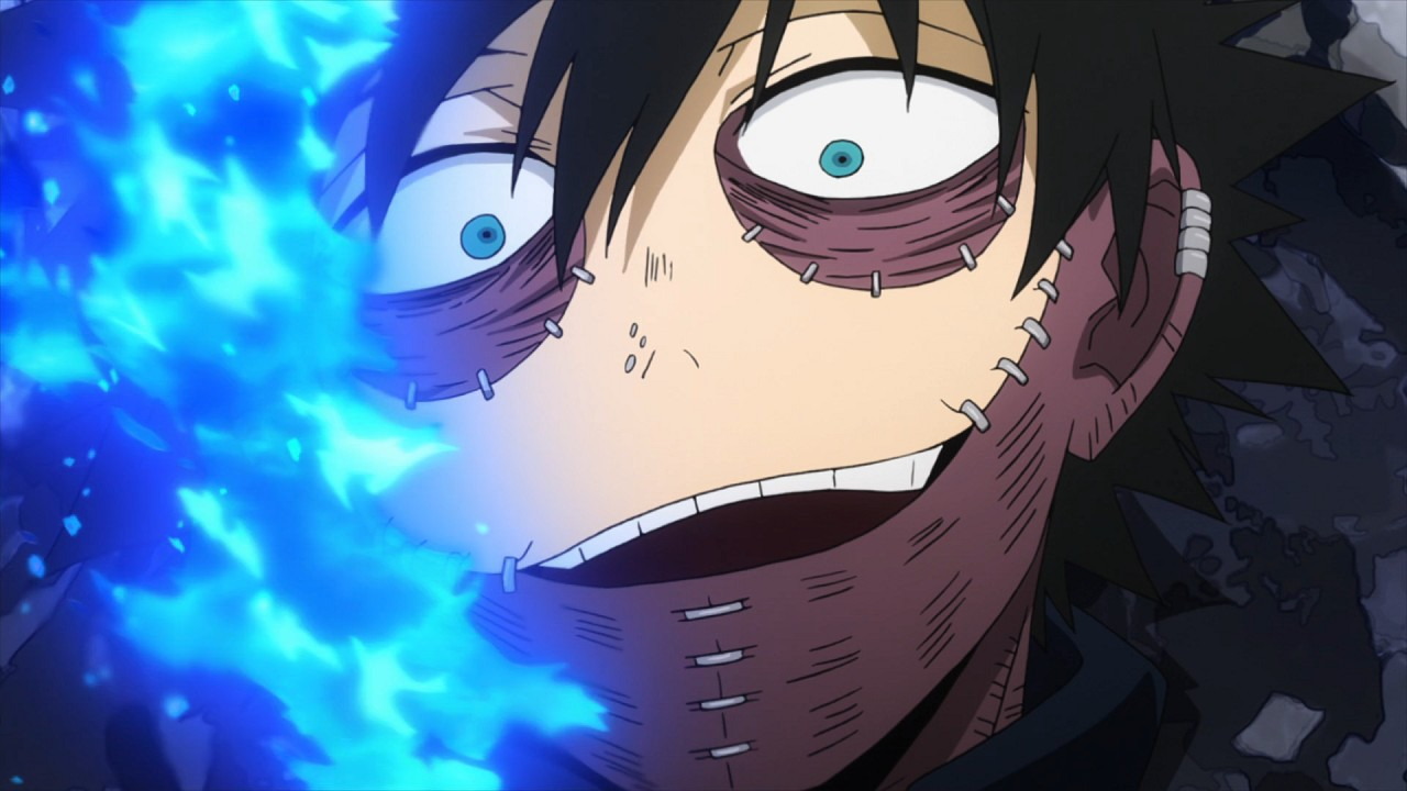 Dabi Anime My Hero Academia Cosplay