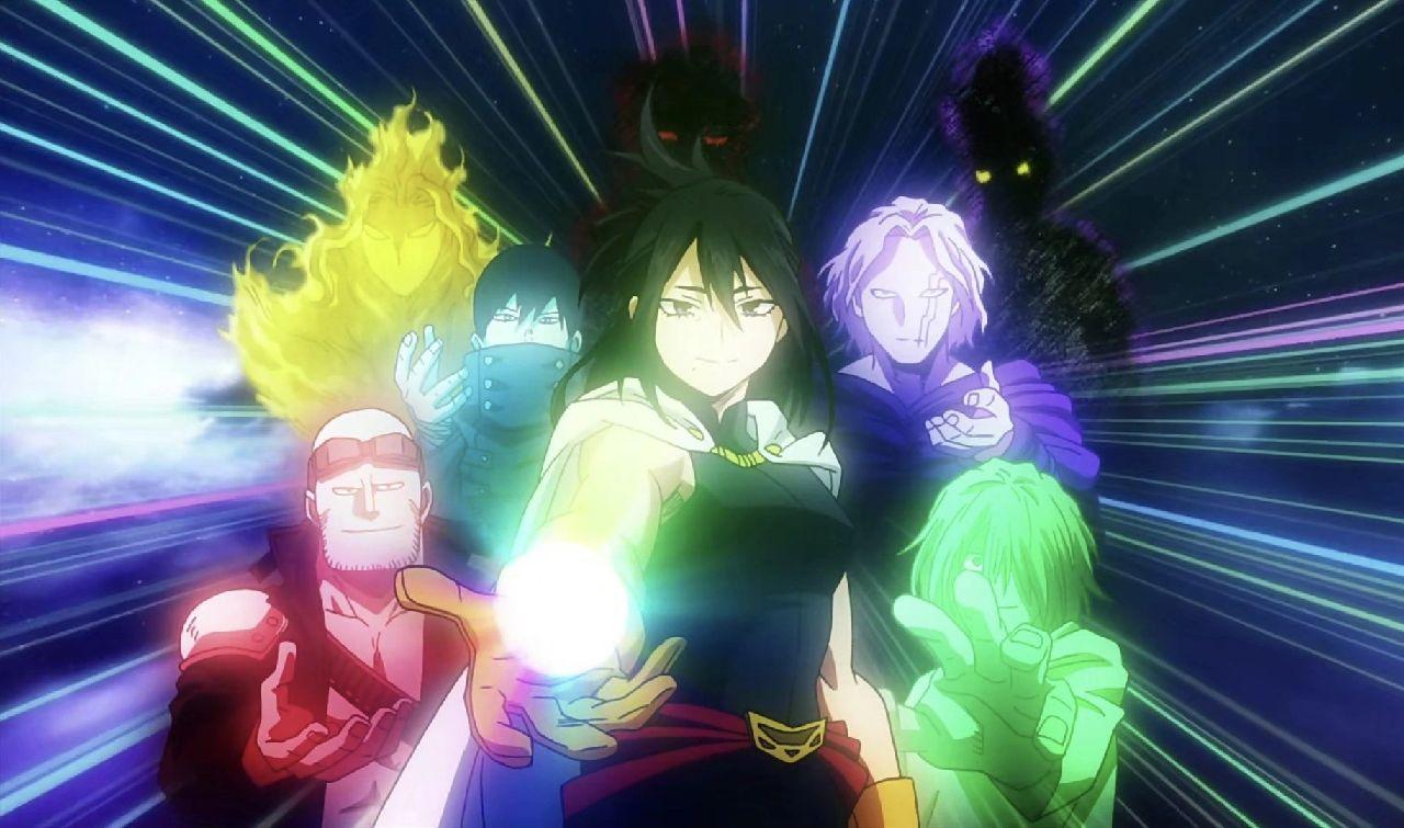 personajes de my hero academia deku