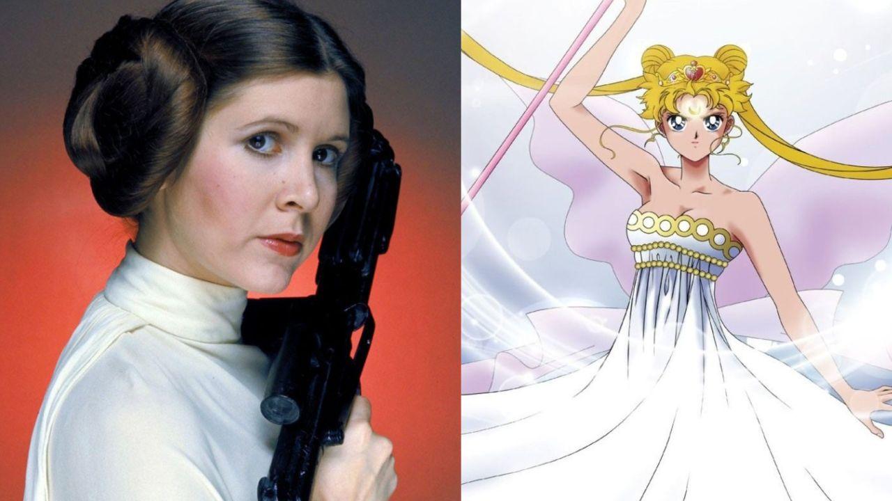 princesa Leia y serenity fanart