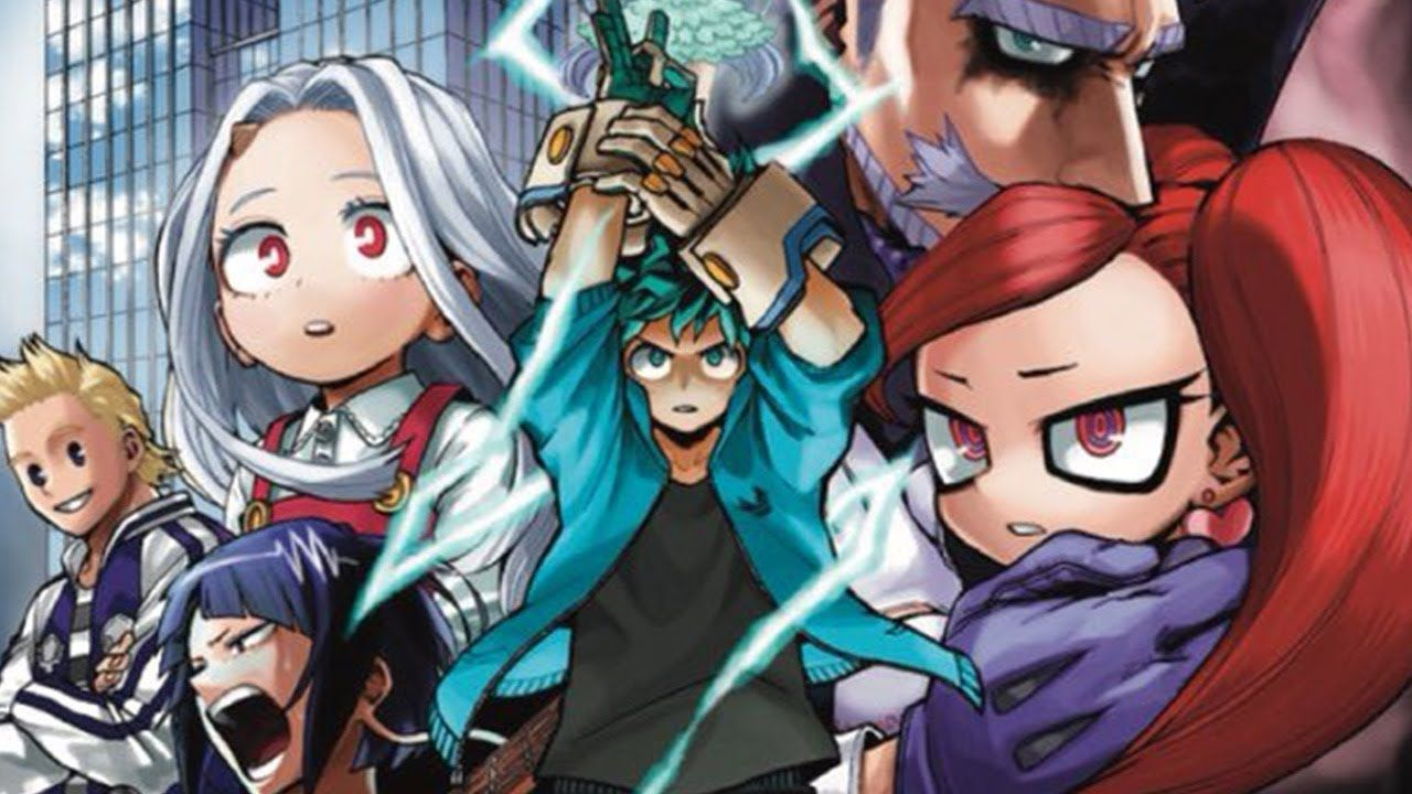 personajes de my hero academia don manga anime