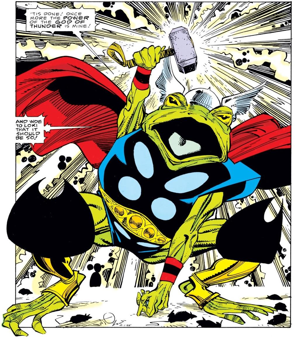 throg thor rana comics marvel serie loki