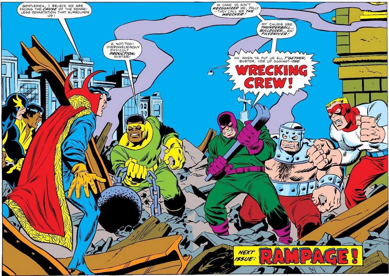 The Wrecking Crew Nuevos Villanos Serie She-Hulk