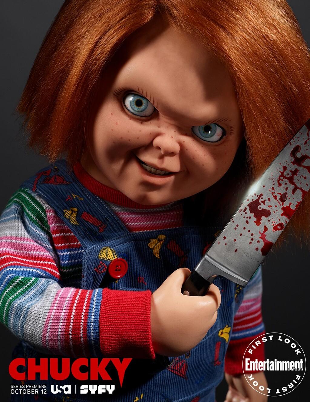 chucky el muñeco diabólico poster serie television