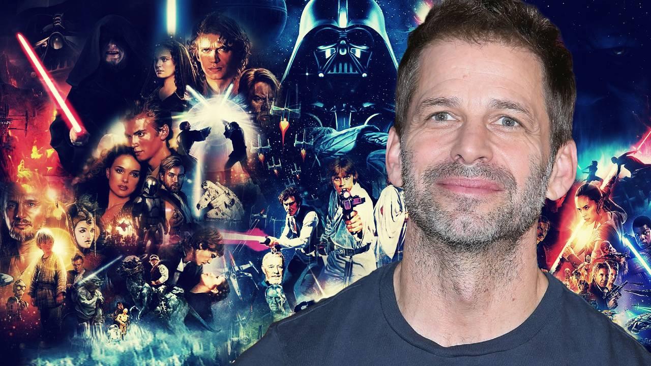 Zack Snyder Planes en Netflix Nueva Película Star Wars
