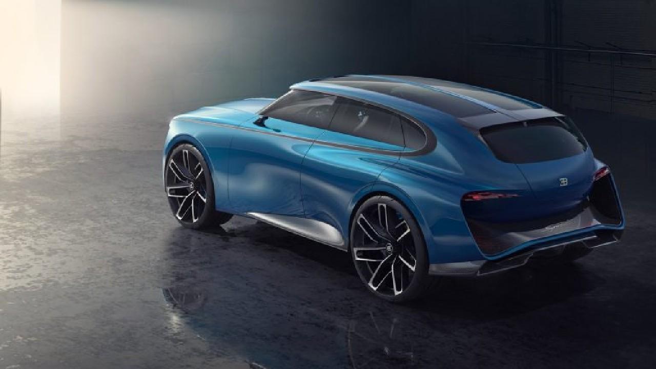 Bugatti SUV spartacus render