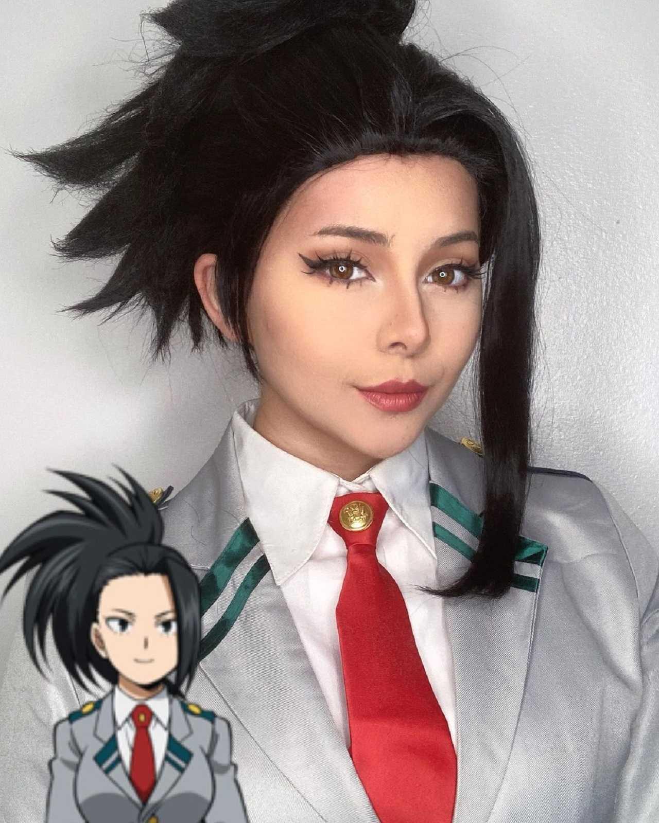 Cosplay de My Hero Academia Personajes de My Hero Academia Momo